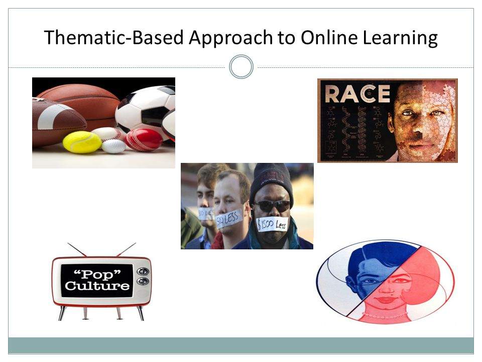 Thematic-Based Approach to Online Learning