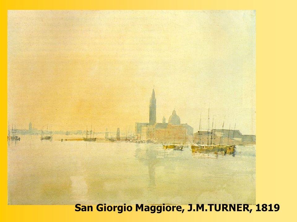 San Giorgio Maggiore, J.M.TURNER, 1819