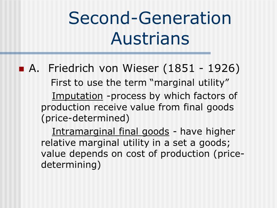 Second-Generation Austrians A.