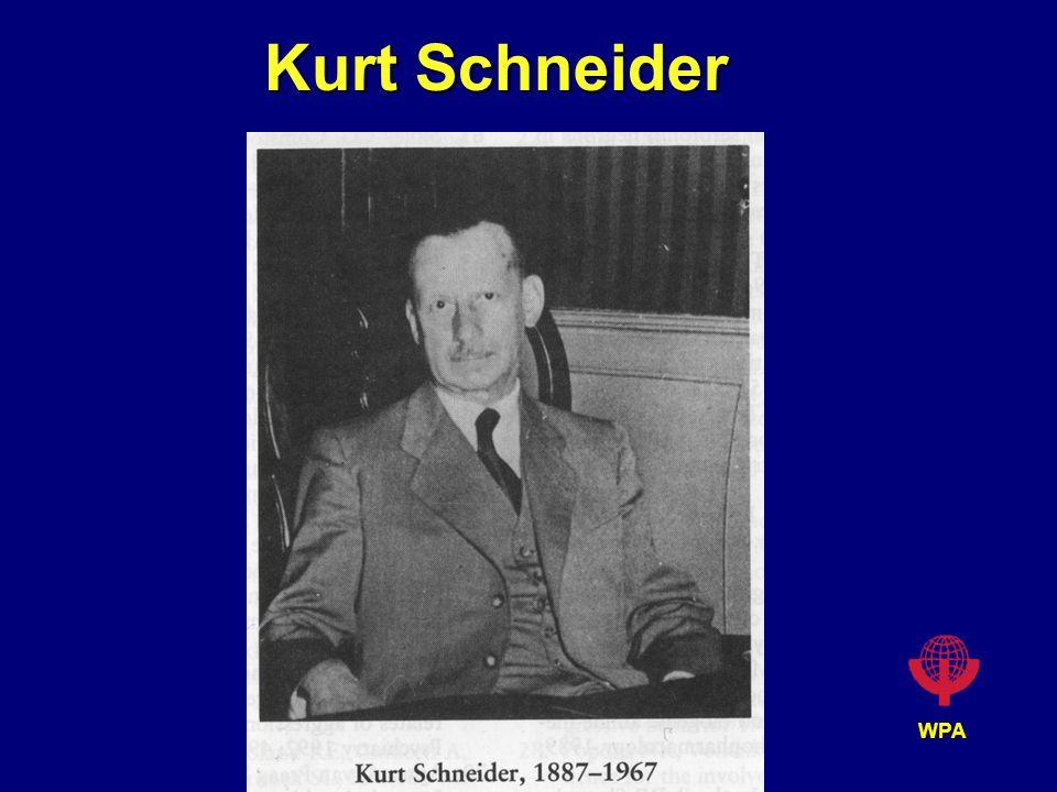 WPA Kurt Schneider