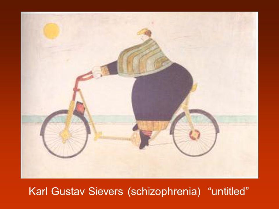 "Karl Gustav Sievers (schizophrenia) ""untitled"""