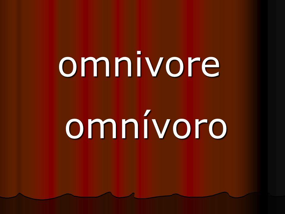 carnívoro carnivore