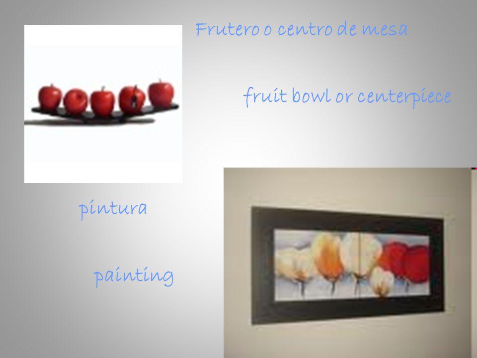 fruit bowl or centerpiece Frutero o centro de mesa pintura painting