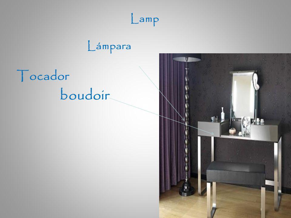 Tocador boudoir Lámpara Lamp