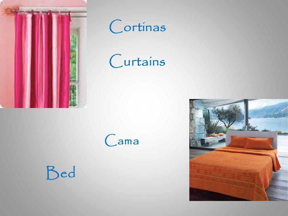 Cortinas Curtains Cama Bed