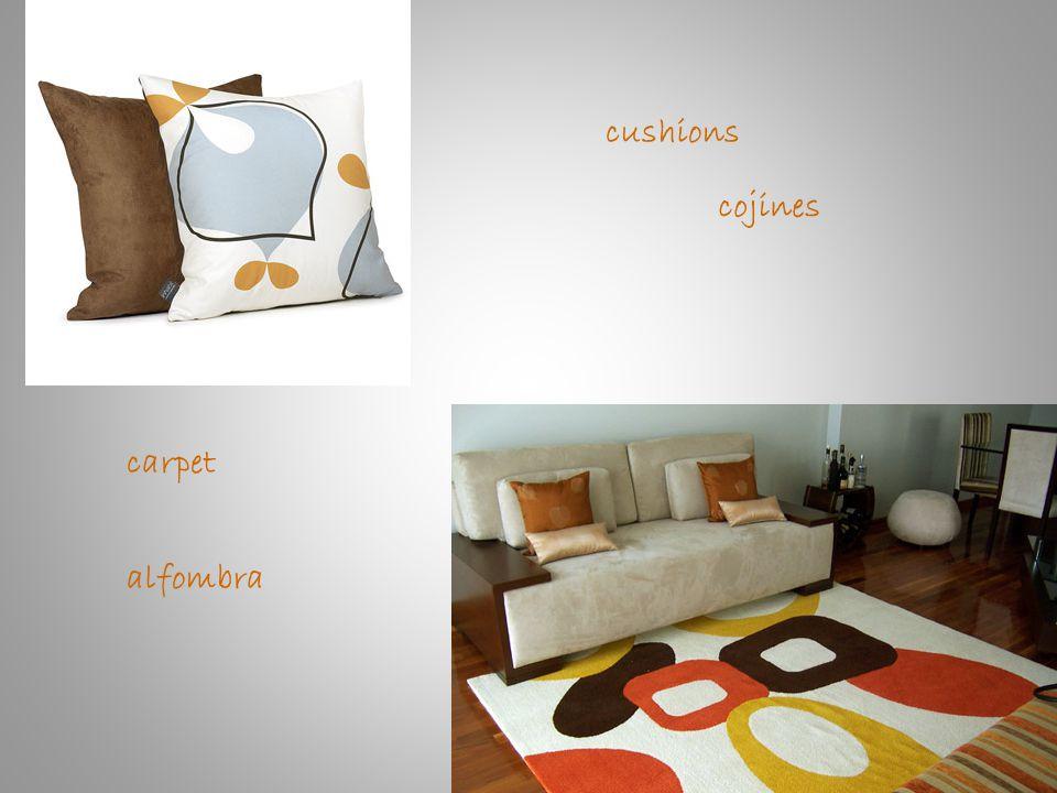 cushions cojines carpet alfombra