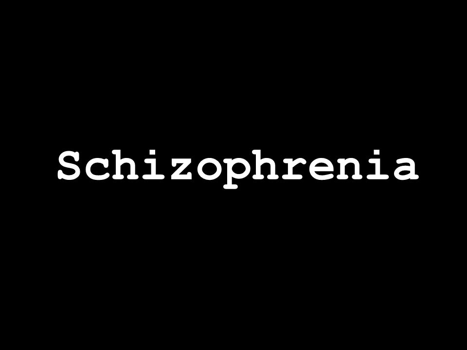 Schizophrenia is a chronic, severe, disabling brain disease that interferes with a person's ability to think clearly, to distinguish reality from fantasy, to manage emotion, to make decisions, and to relate to others.