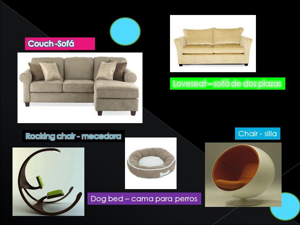 Chair - silla Dog bed – cama para perros