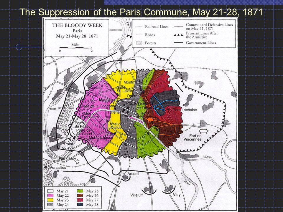 The Suppression of the Paris Commune, May 21-28, 1871