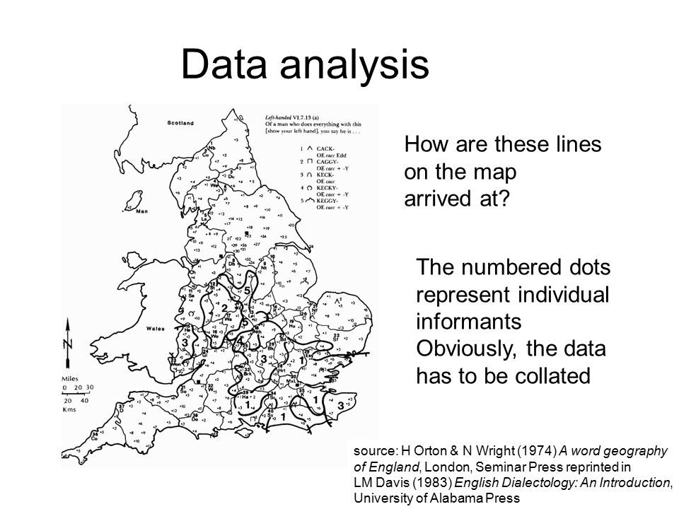 15 Data analysis How are these lines on the map arrived at.