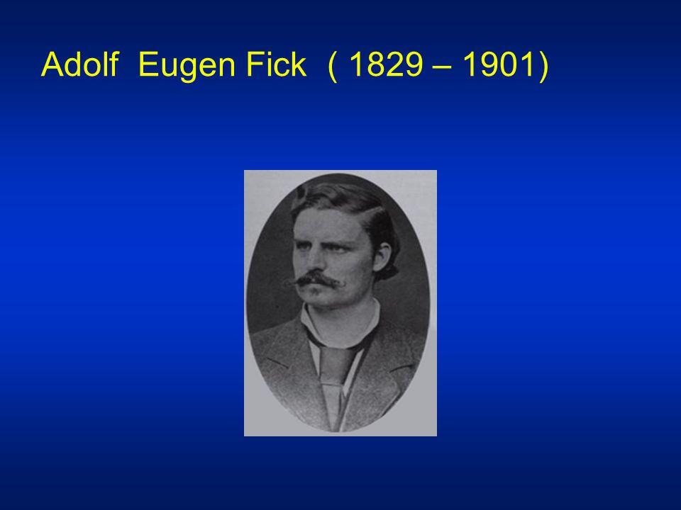 Adolf Eugen Fick ( 1829 – 1901)