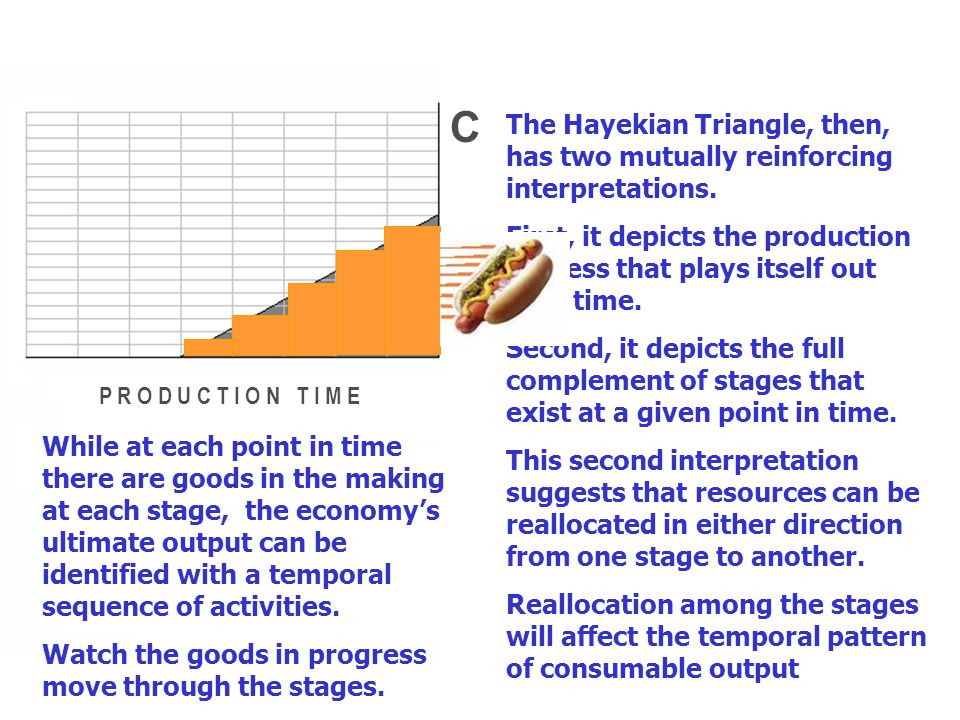 CONSUMABLE OUTPUT S T A G E S O F P R O D U C T I O N For analytical purposes, the economy's production process is conceived as a continuum of stages