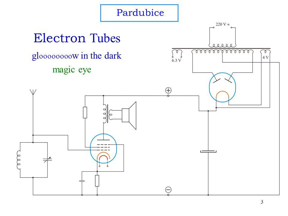 3 gl oooooooo w in the dark Electron Tubes magic eye Pardubice