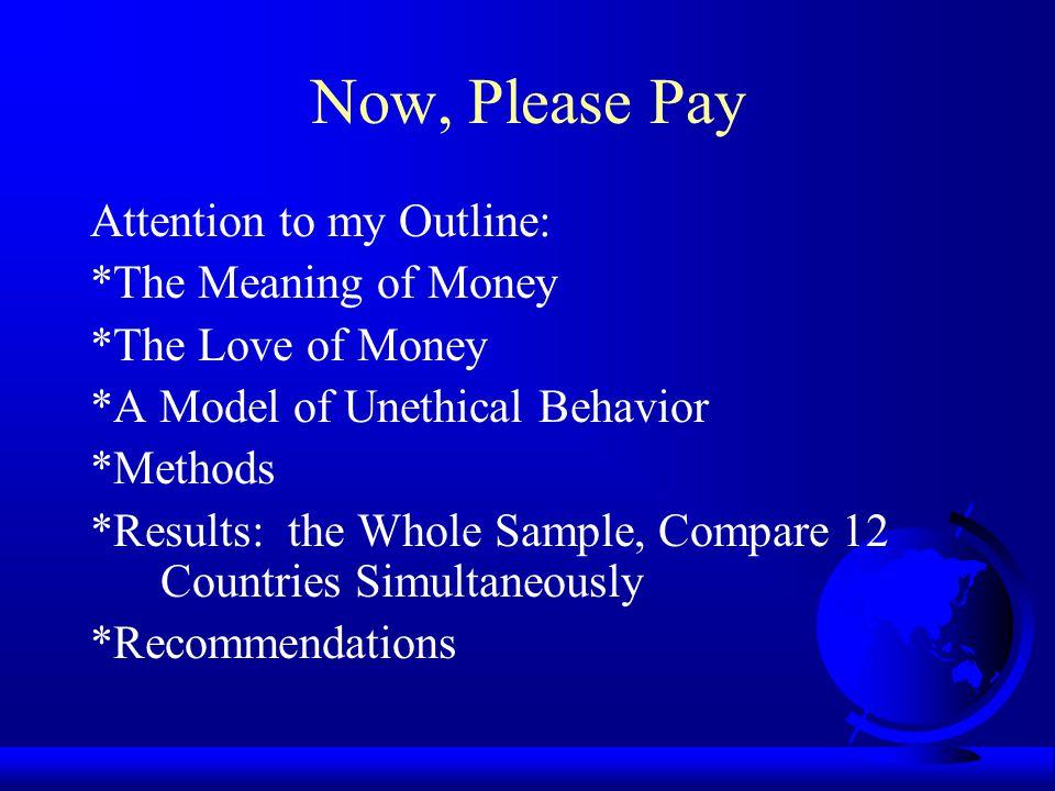 Money Profiles Evil, Budget, Charity, Importance, Motivator, Success, Cluster Analysis Conscientious Steward Frugal Budgeter Money Worshiper Careless Handler