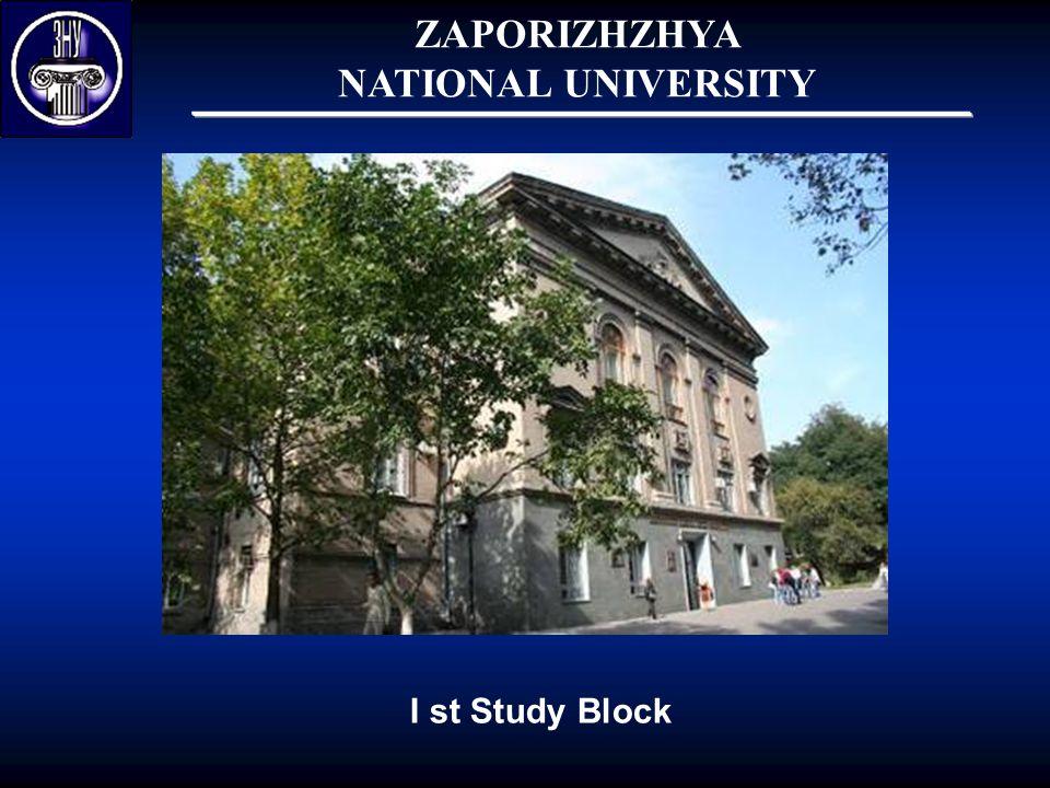 I st Study Block