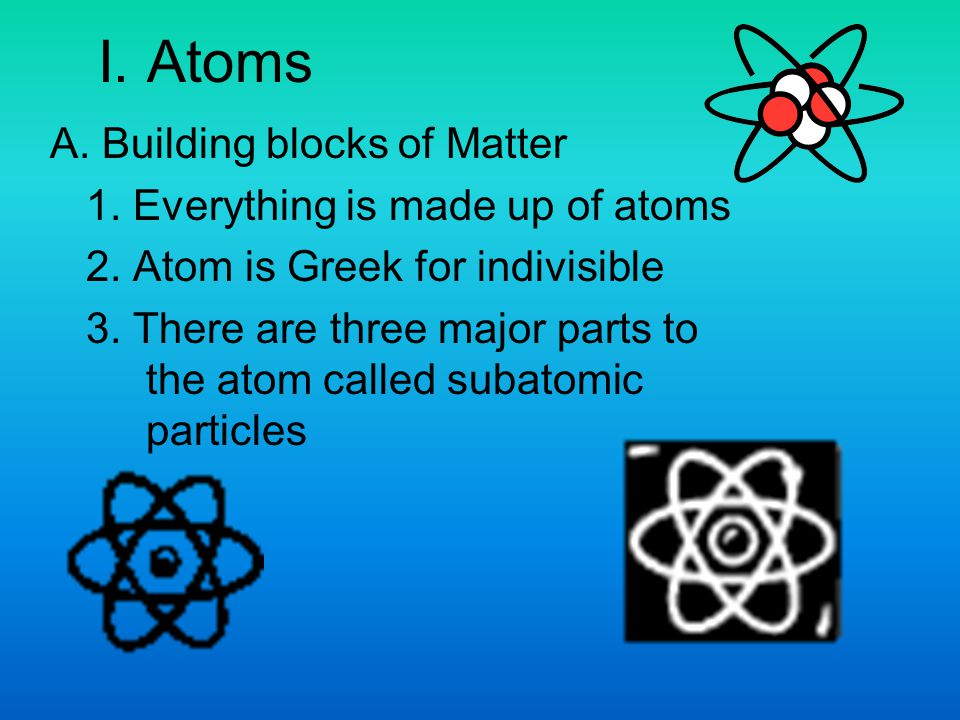 B.Subatomic Particles Most of the atom's mass.