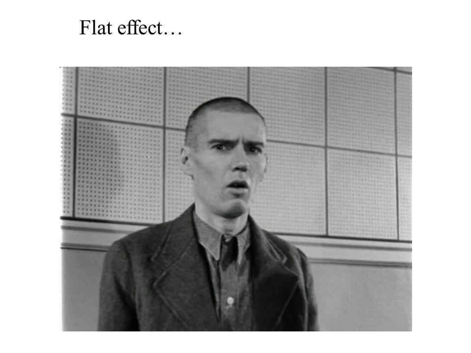 Flat effect…