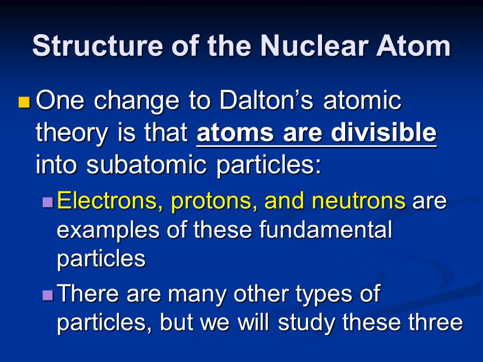 Discovery of the Electron In 1897, J.J.