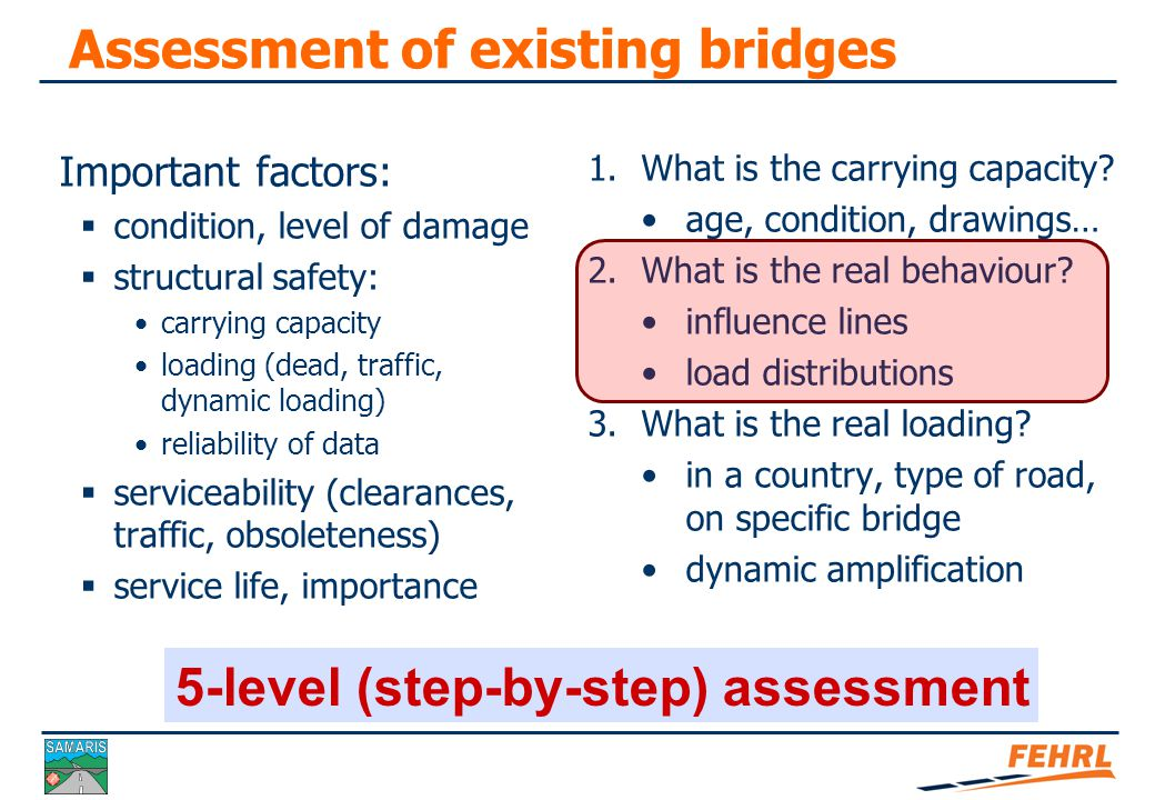 Optimised assessment of bridges Case study 1 - Medno bridge Soft Load Testing Aleš Žnidarič Slovenian National Building and Civil Engineering Institute