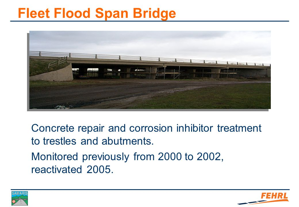 Case Study: Post-repair monitoring – Fleet Flood Span Bridge Case Study 2