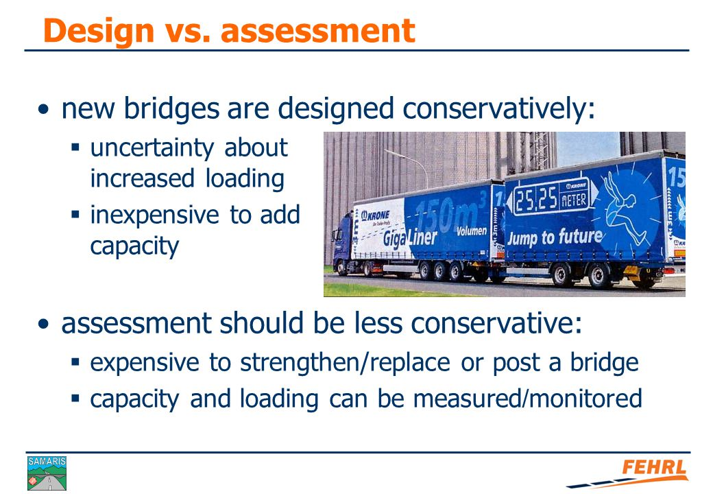 Why optimised assessment