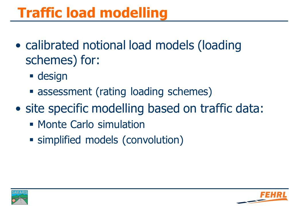 Soft load testing – limitations not intended to predict the ultimate state behaviour validity of bridge assessment is often short-term and depends on the level of safety if higher traffic loading is expected, measurements should be extended or replaced by a normal diagnostic load test the soft load testing procedure has only been tested and used on bridges shorter than 40 m requires an experienced engineer who can realistically evaluate situation