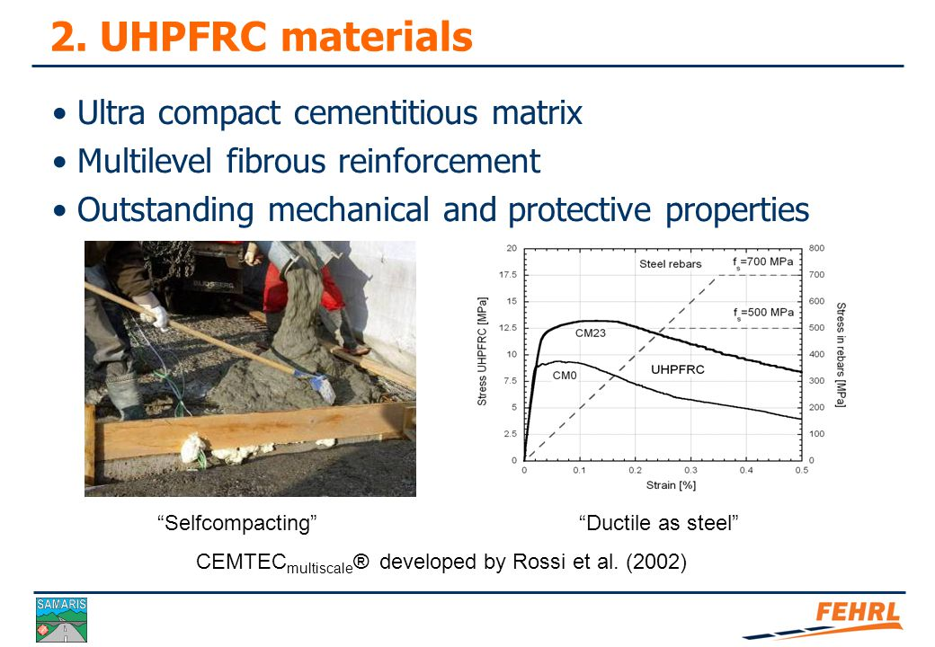  Exposures to environmental loads  Most severe = contact with liquid water - XD2, XD3, XA2,3  Reinforced concrete cannot withstand it for a long time !