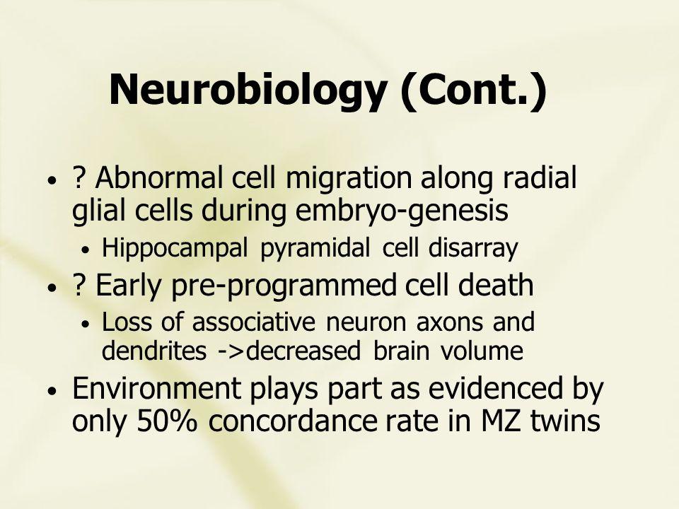 Schizoaffective Disorder Etiology unknown Heterogeneous group: .