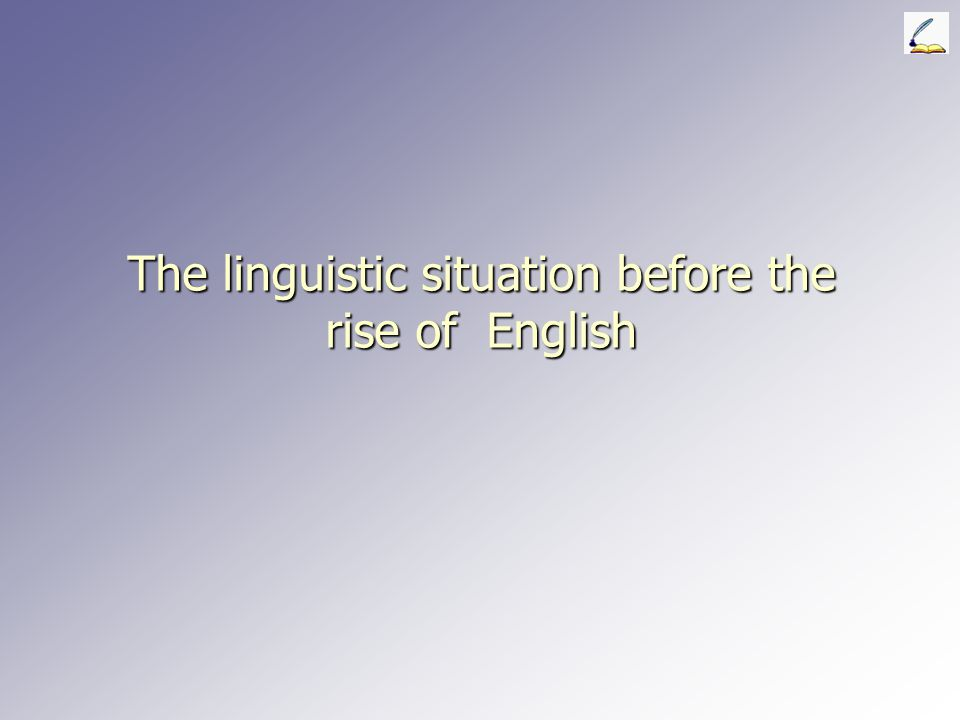 Late Modern English ► ► The rise of Standard English in Britain The rise of prescriptivism (notions of correct and incorrect language) ► ► Formulation