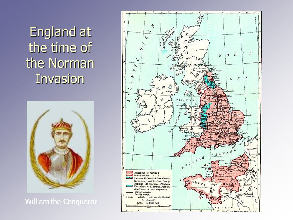 Middle English After the invasion of England by the Normans in 1066, the West Saxon 'standard', which was waning anyway due to natural language change