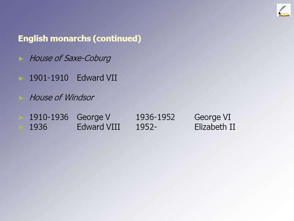 English monarchs (continued) ► ► Commonwealth and Protectorate ► ► 1649-1653Council of State1653-1658 Oliver Cromwell ► ► 1658-1659 Richard Cromwell ►
