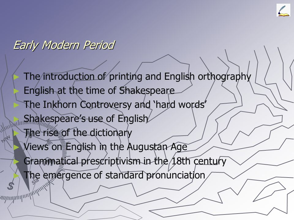 Middle English ► ► The Anglo-Norman period, transition of Old to Middle English ► ► French influence on Middle English ► ► Spelling practice in Middle