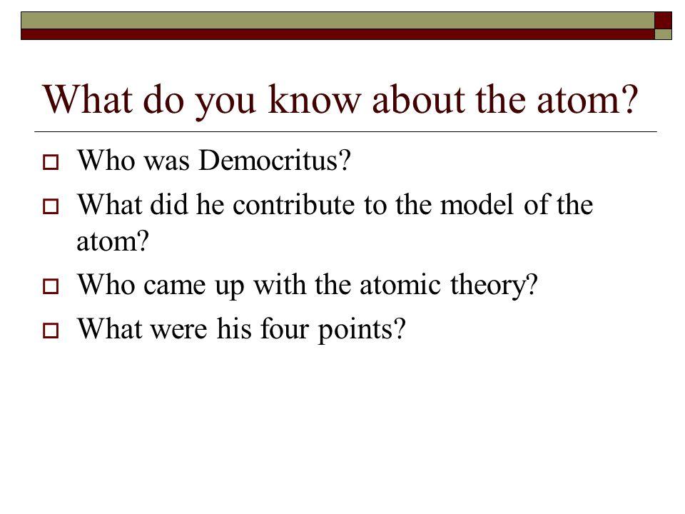 Homework  Last element quiz FRIDAY!