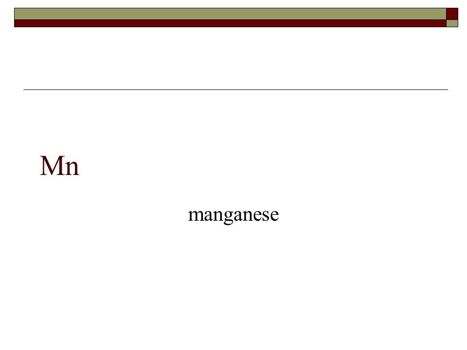 Mn manganese