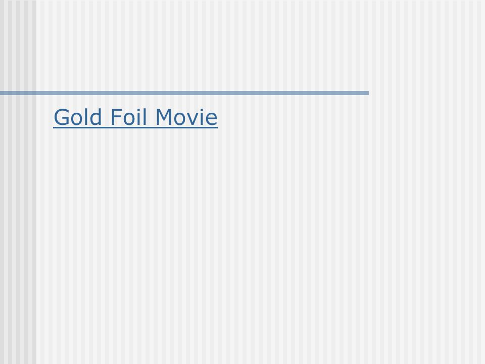 Gold Foil Movie