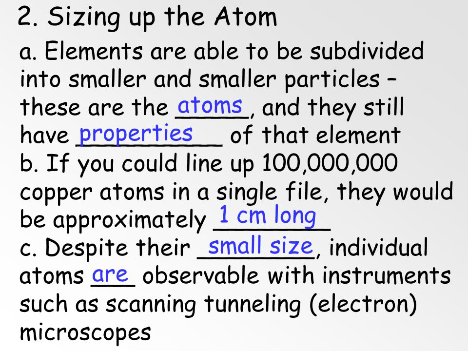 Problems with Dalton's Atomic Theory? 1. matter is composed of indivisible particles Atoms Can Be Divided, but only in a nuclear reaction 2. all atoms