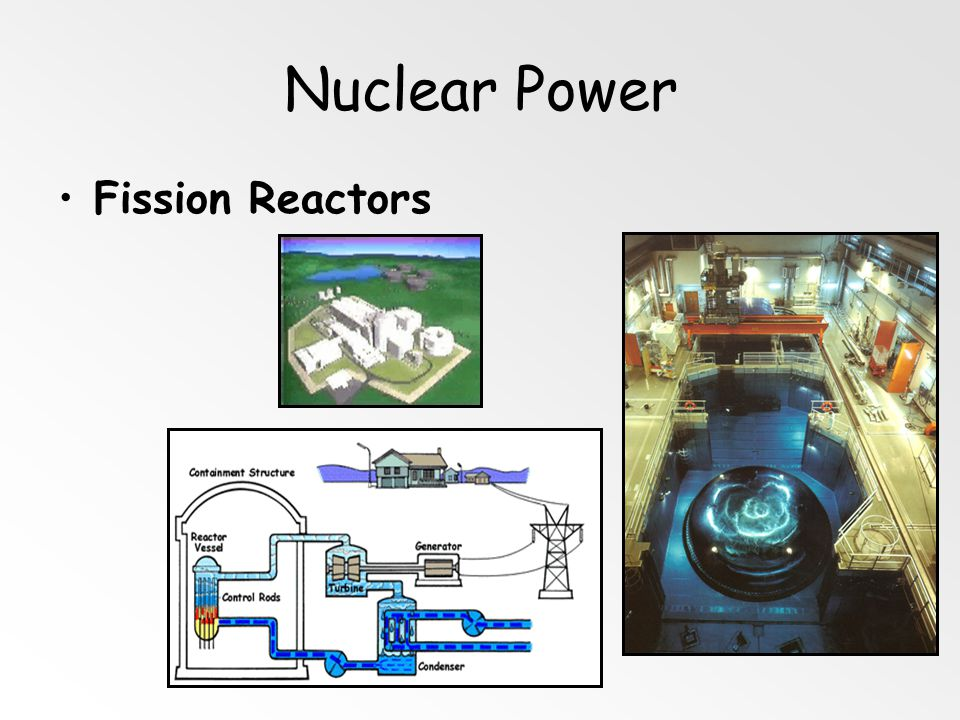 Nuclear Power Fission Reactors Cooling Tower