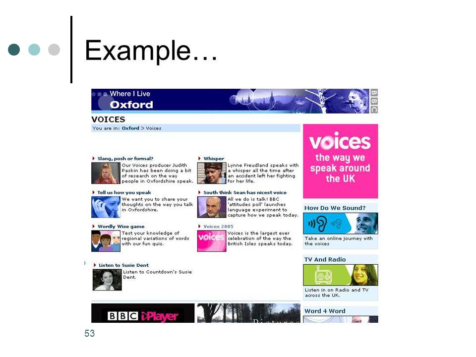 53 Example…