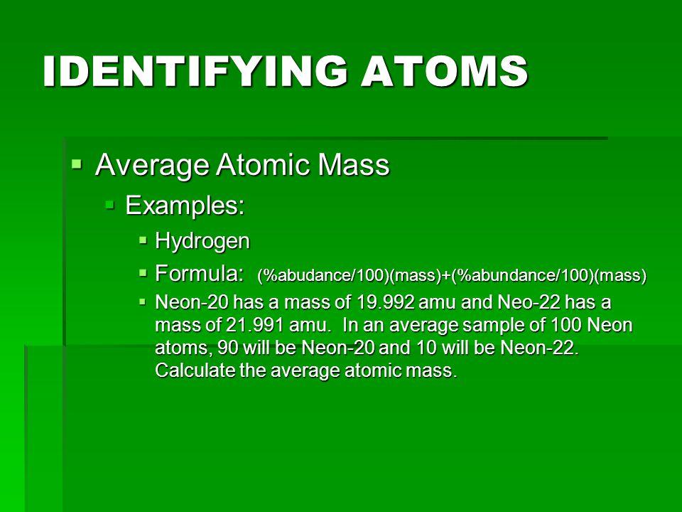 NOMENCLATURE 17 o 8 Atomic # Mass # Chemical Symbol O - 17 Mass #