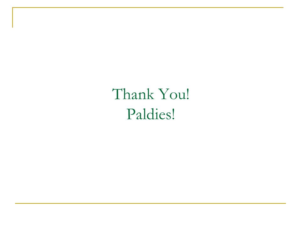 Thank You! Paldies!