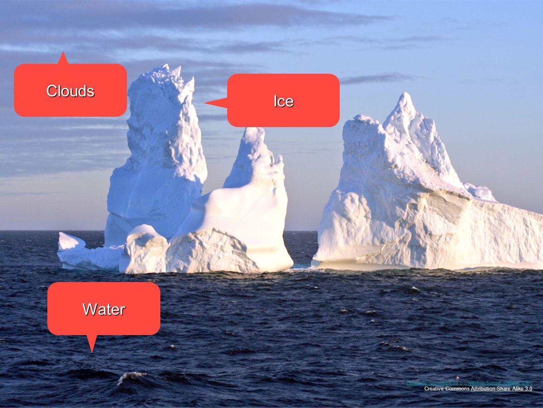 Πηγη:http://en.wikipedia.org/wiki/File:Sunset_iceberg_2.jpg Creative Commons Attribution-Share Alike 3.0 Clouds Ice Water