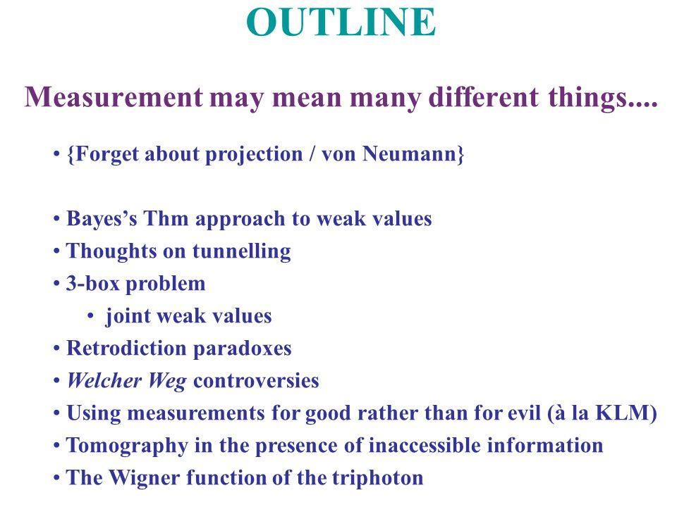 Calibration of the weak measurement