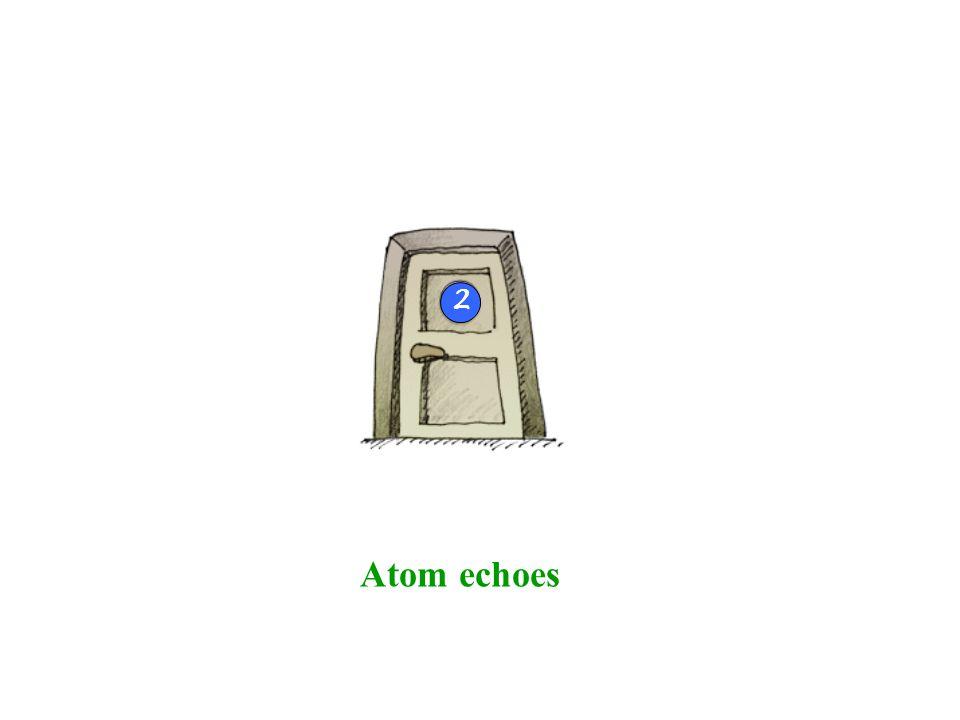 Atom echoes 2