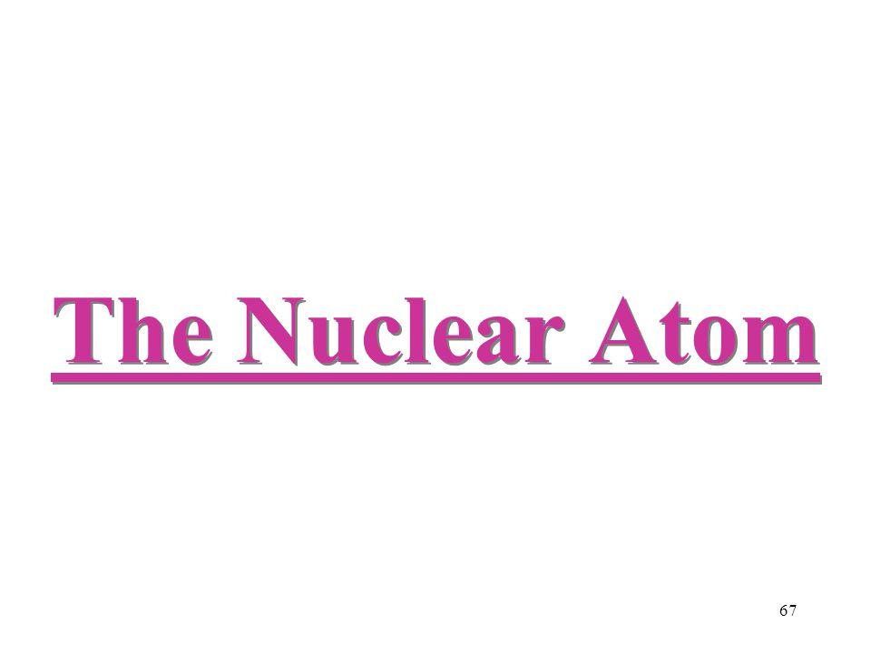 67 The Nuclear Atom