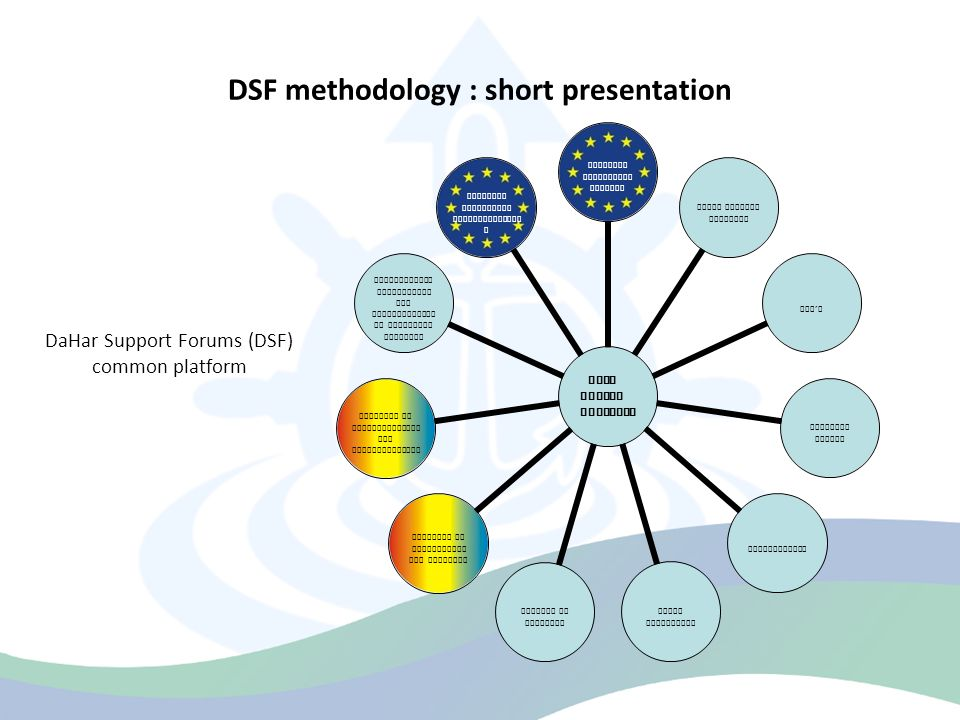 Status of DSFs in DaHar countries Target group no.