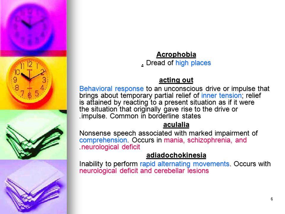 57 retrograde amnesia Loss of memory for events preceding the onset of the amnesia.