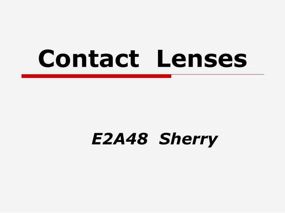 Contact Lenses E2A48 Sherry