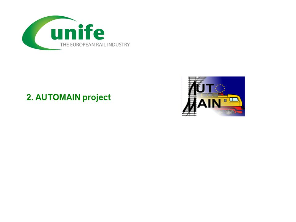 2. AUTOMAIN project