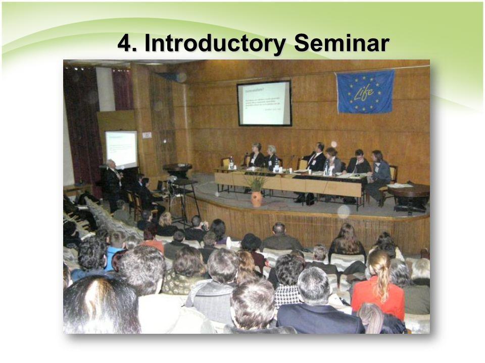 4. Introductory Seminar