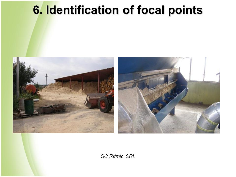 SC Ritmic SRL 6. Identification of focal points